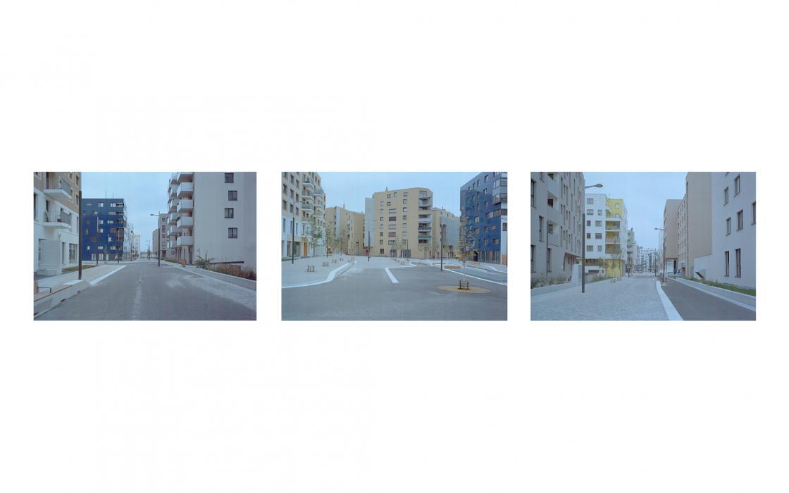 Seestadt Triptychon I