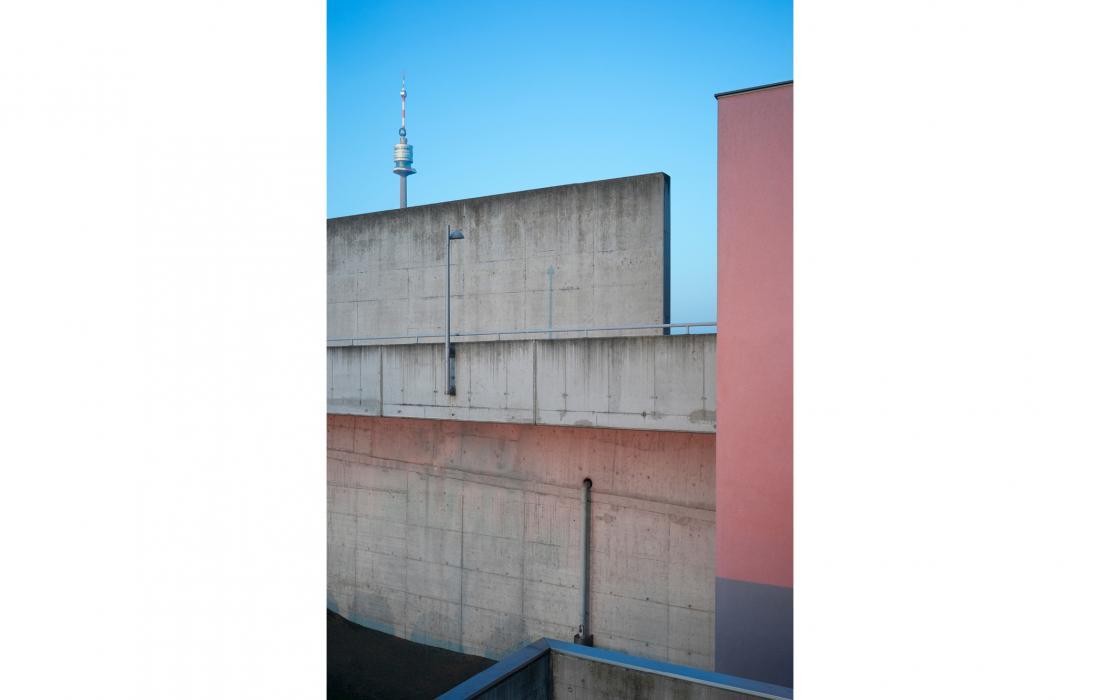 Mauern und Donauturm, Wien