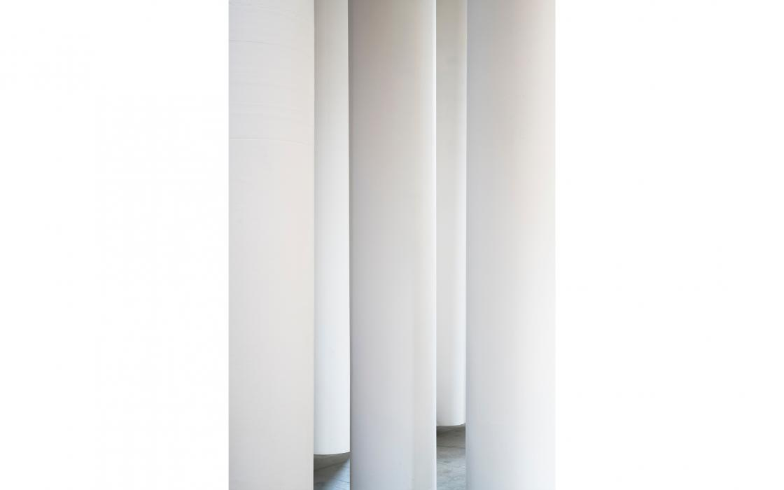 Säulenhaufen, Valerio Olgiati; Architekturbiennale Venedig 2018